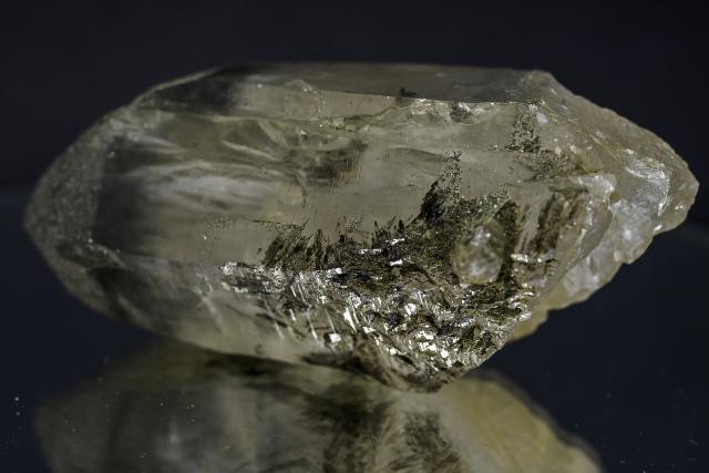 ヒマラヤ水晶 ラパ産水晶ポイント ガネーシュヒマール スモーキー水晶