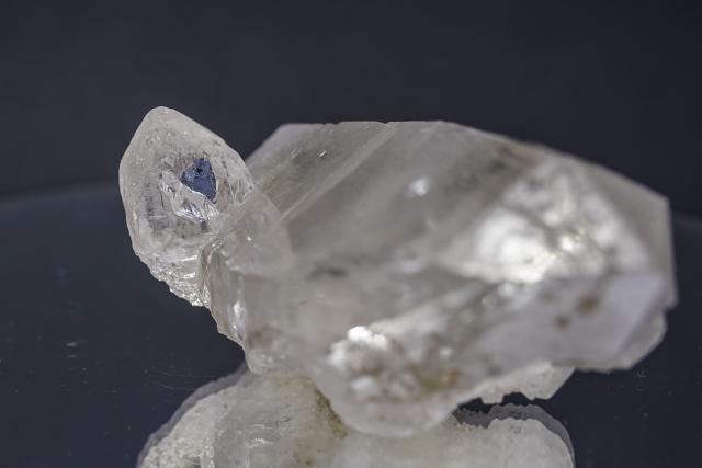 ヒマラヤ水晶 ラパ産水晶ポイント ガネーシュヒマール スモーキー・レインボー水晶