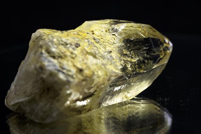 ヒマラヤ水晶 ティップリン産水晶ポイント ゴールデンヒーラー レインボー ガネーシュヒマール