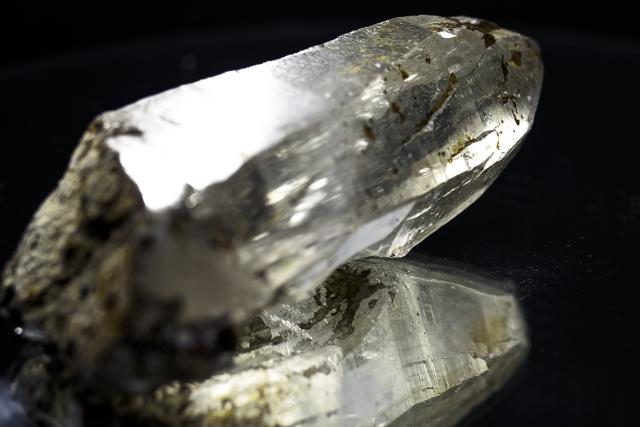 ヒマラヤ水晶 ティップリン産水晶ポイント ガネーシュヒマール コッパークオーツ