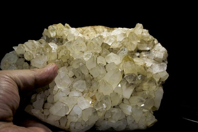 ヒマラヤ水晶 ティップリン産水晶クラスター ガネーシュヒマール